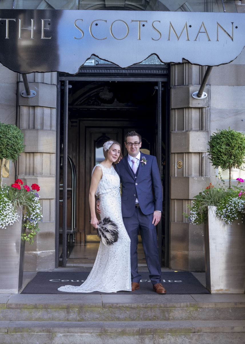 Edinburgh City Chambers Wedding Photography-29